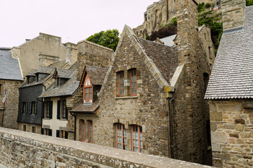 Houses in Mont Saint Michel – Normandie, France