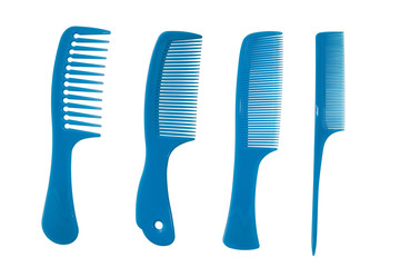 Blue combs