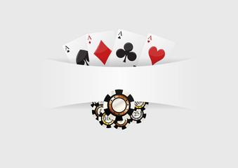 poker blank background