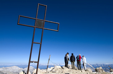 Gipfelkreuz - Tofana di Mezzo - Dolomiten - Alpen