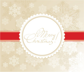 Christmas gift packaging vector template