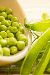 Fresh Organic Peas