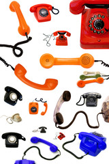 Telephone collection Design Elements