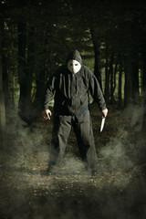 Masked maniac killer