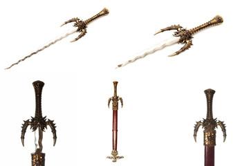 photo series warrior sword