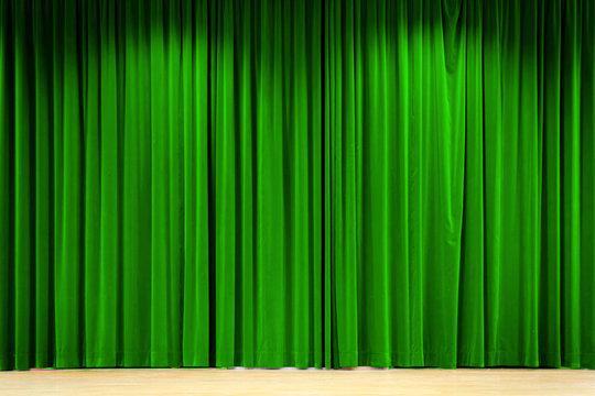 Grüner Vorhang