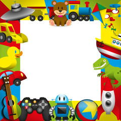 Vector Framework Of Toys