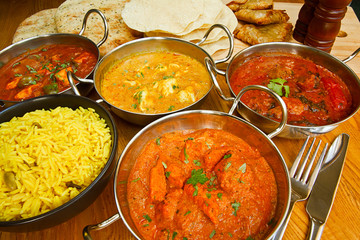 indian cuisine buffet