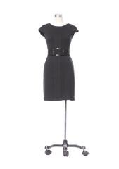 Fashion female black clothing on mannequin