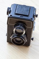 Twin-lens camera