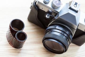 Reflex analogue camera