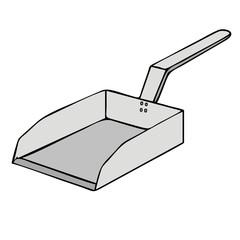 shovel vector illustration