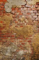 Wall Mural - Hintergrund marode Klinkerwand