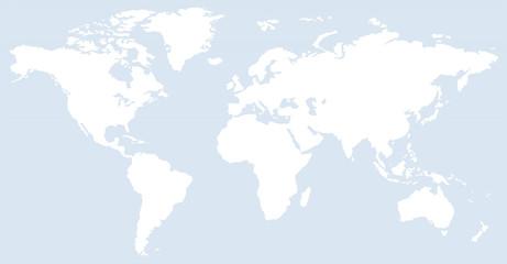 blue horizontal line pattern world map