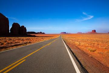 Arizona US 163 Scenic road to Monument Valley