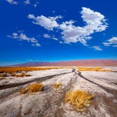 Poster de jardin Parc Naturel Death Valley National Park California Badwater