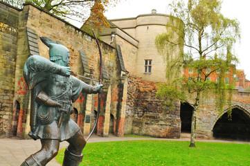 Fotobehang Kasteel Nottingham Castle, UK