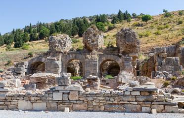 Bath of Varius ruins, Ephesus, Turkey