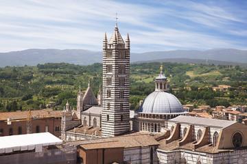 Fototapete - Duomo of Siena, Tuscany, Italy