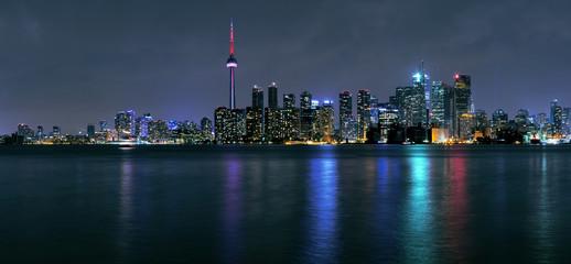 Wall Murals Toronto Toronto city at night