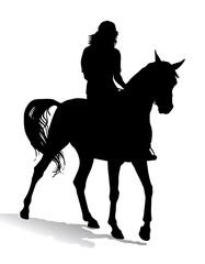 Girl on horse 3