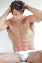 Sexy nude man