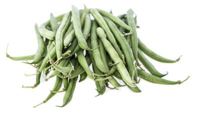 Isolated Green Beans