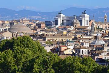 Roma vista dalla Terrazza dell'Angelo