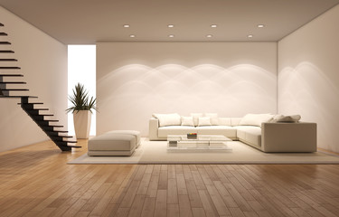 Obraz Living room - fototapety do salonu