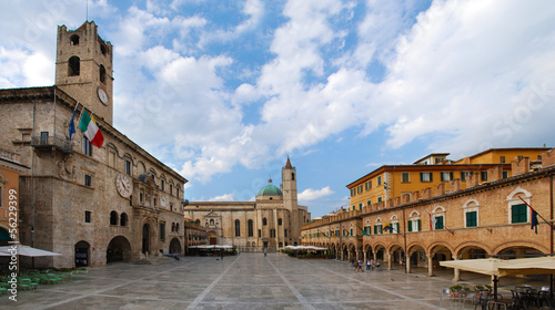 Fotomurales Ascoli Piceno - Piazza del popolo