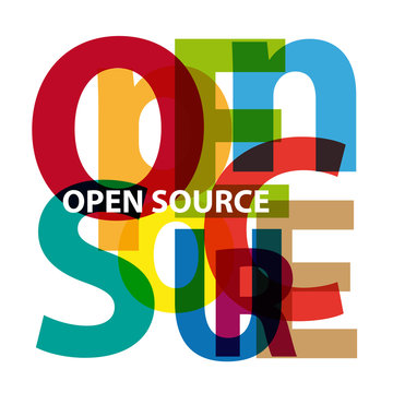 Vector Open Source. Broken text