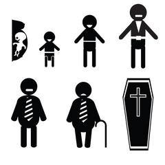 icons of human life