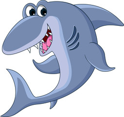 shark cartoon for you design