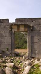 Ionisches Tempeltor in Olympos bei Kemer - Türkei