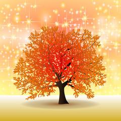 goldener Herbst Hintergrund