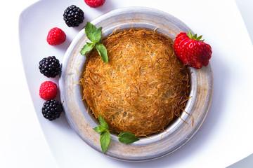 Cheese and Shredded Dough Dessert Kadayif