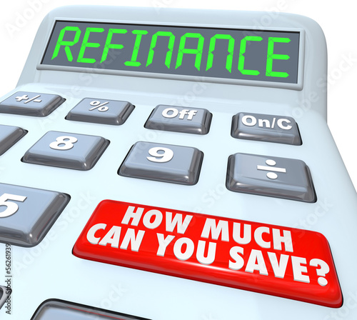 refinance calculator how much can you save mortgage payment fotolia