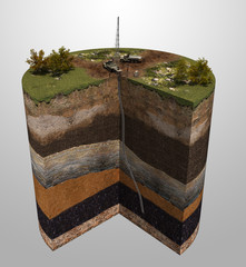 Geological exploration for oil and gas