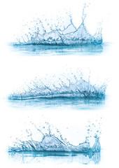 water splash collection