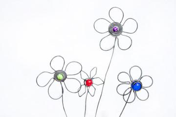Decorative Atrificial Hand Crafted Flower Arrangement