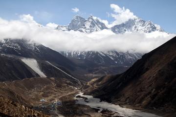 cloudy summits / Nepal summits