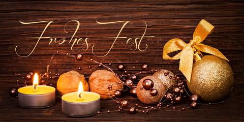 Weihnachtskarte DIN Format