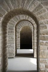 Fototapeta architecture bows entrance