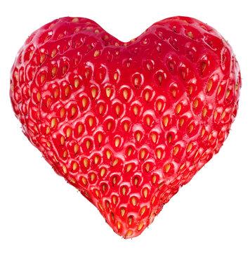 Strawberry heart.