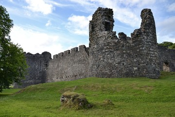Inverlochy Castle near Fort William in Scotland