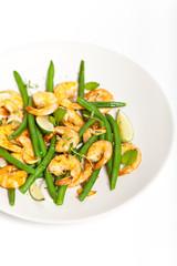 Grilled Shrimp and Green Bean Salad