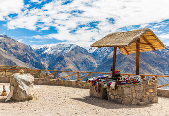 Market, Hawkers in Colca Canyon, Peru, South America