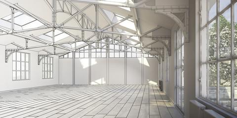 Exhibition Area (construction)