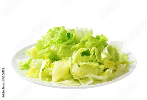 Листья салат айсберг