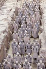 Tuinposter Xian Chinese terracotta army - Xian
